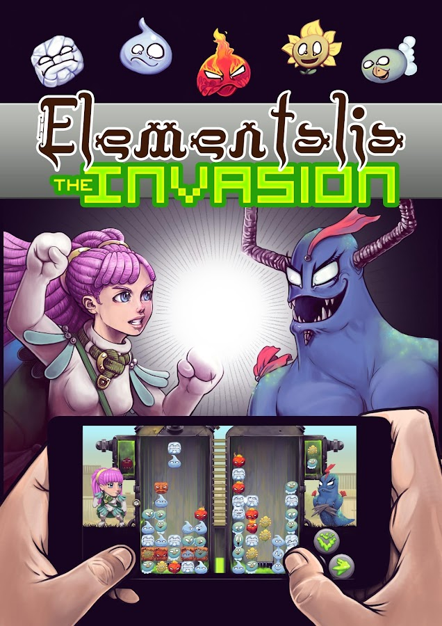 Elementalia: The Invasion- screenshot