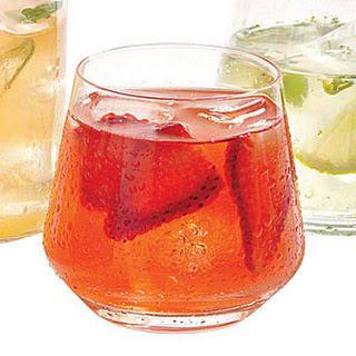 Strawberry and Rhubarb Lemonade.