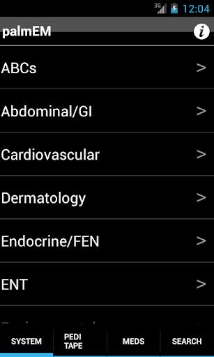 【免費醫療App】palmEM: Emergency Medicine-APP點子