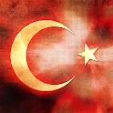 Dalgalanan Türk Bayrağı logo