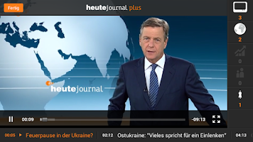 Screenshot of ZDFheute