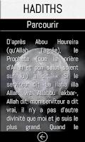 Screenshot of IslaMobile: l'islam, le coran