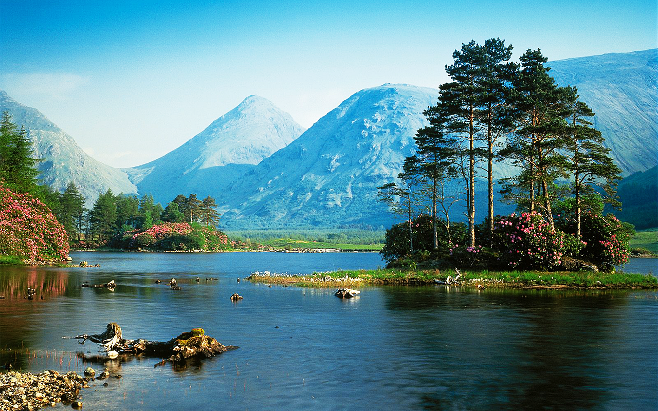 Landscape Jigsaw puzzles 4In 1- screenshot