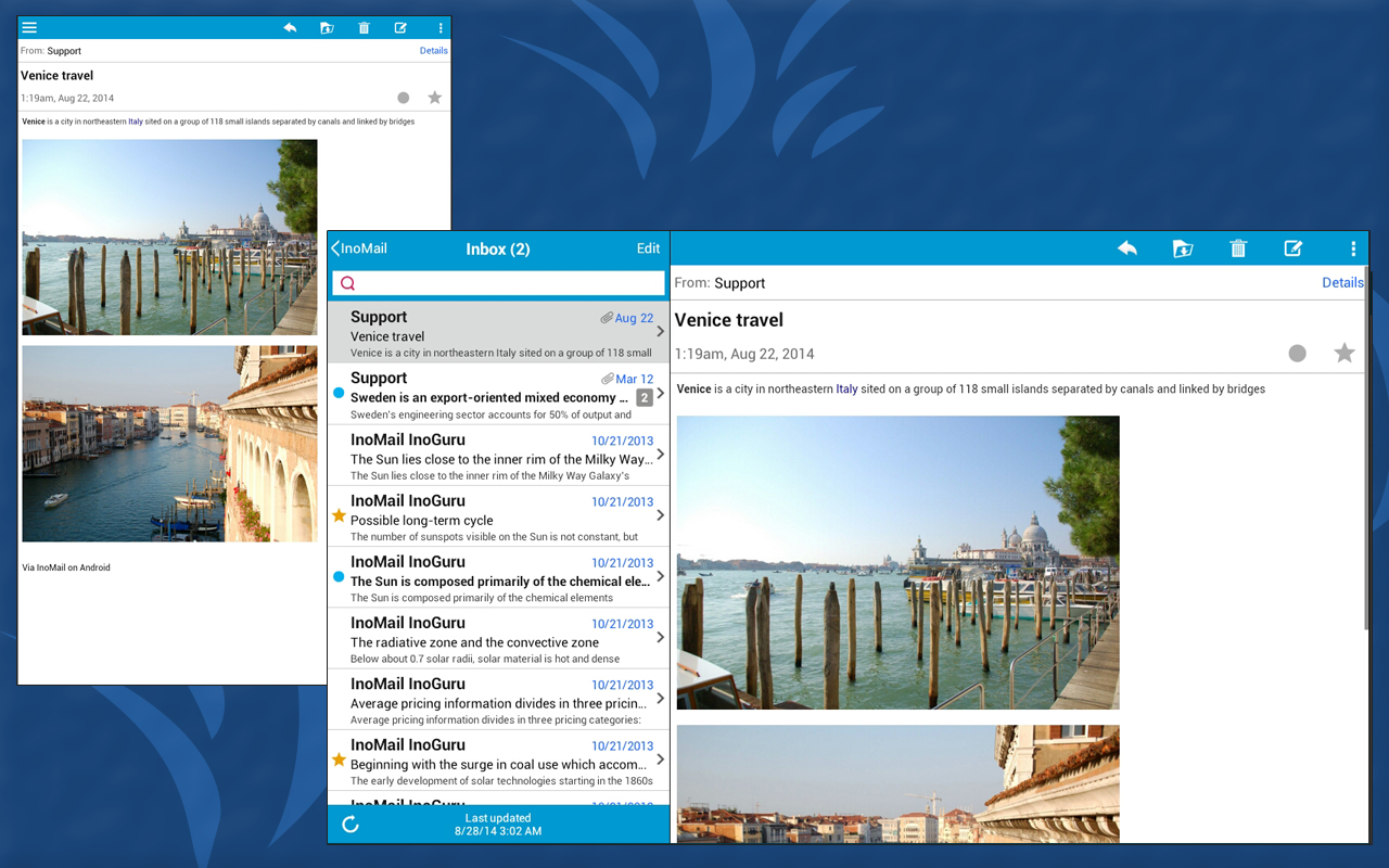 InoMail - Email - screenshot