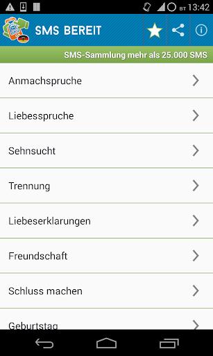 Sammlung SMS Grüße Sprüche
