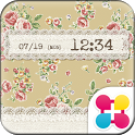 Flower Theme British Tea Rose icon