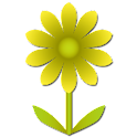 Flower Battery Widget logo