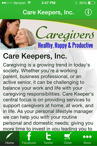 【免費生活App】Care Keepers, Inc.-APP點子