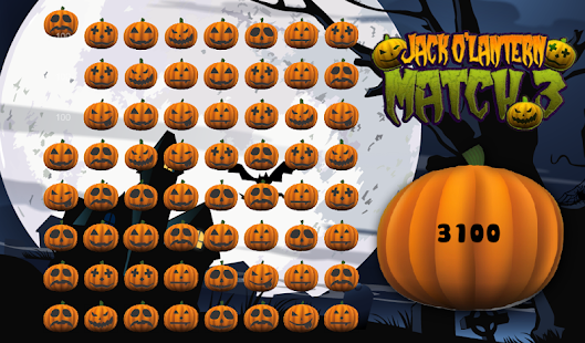 Halloween Pumpkin Match 3 Game - screenshot thumbnail