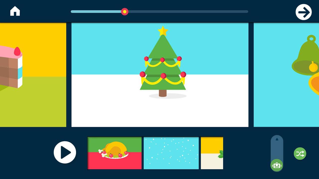 Easy Song Studio - Create your fun Holiday song!- screenshot