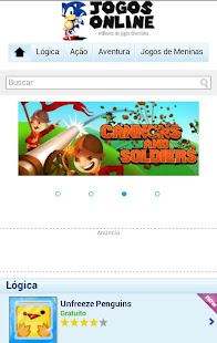 Jogos Online Launcher - screenshot thumbnail