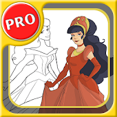 paint princesses magic PRO