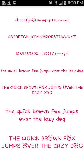 Color Fonts for FlipFont 6