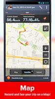 Screenshot of Speed Tracker Free