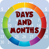 Days & Months Flashcards