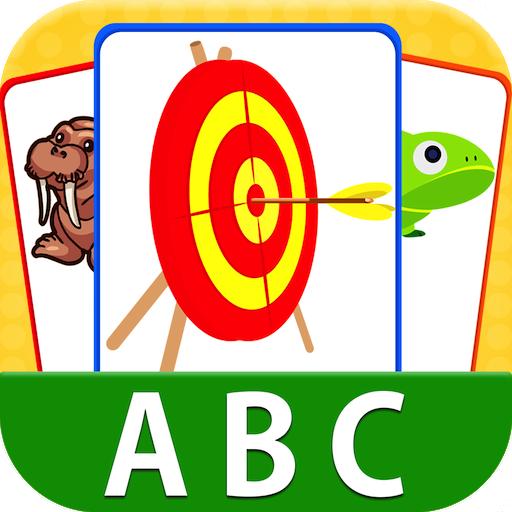 教育の幼児のためのABCフラッシュカード LOGO-HotApp4Game