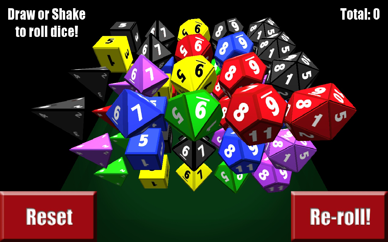 Jelly Dice- screenshot