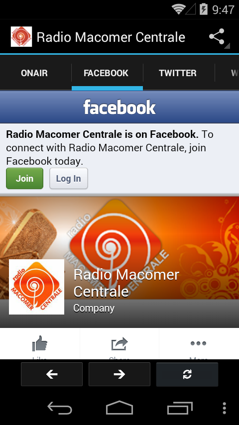 Radio Macomer Centrale- screenshot