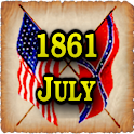 1861 July Am Civil War Gazette logo