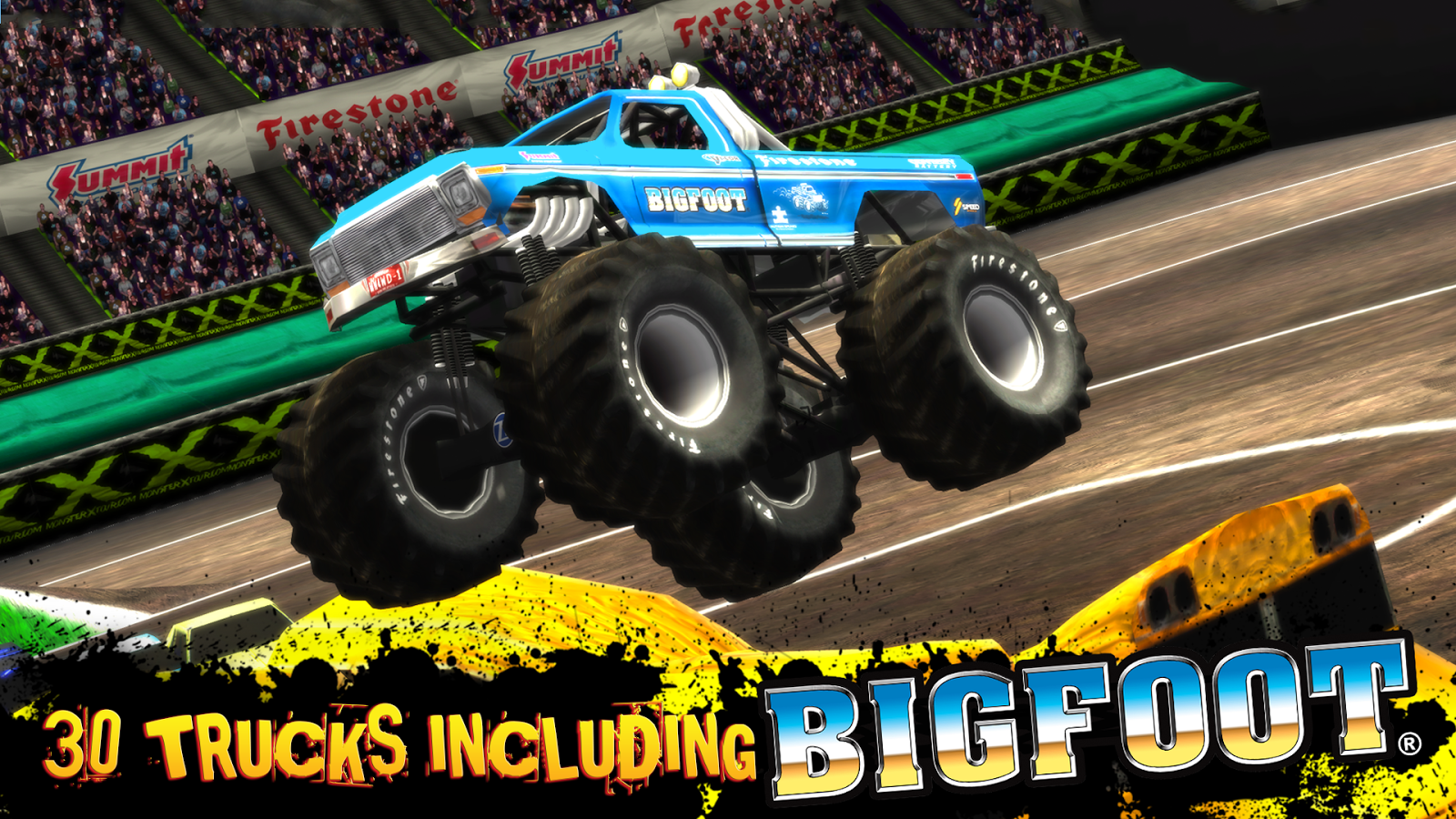 Screenshots of Monster Truck Destruction™ for iPhone