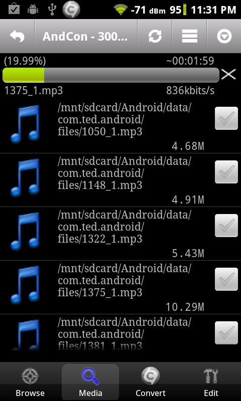 aplicativo editor de musica para android