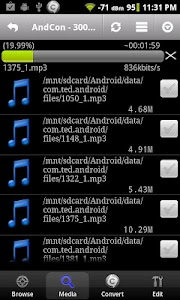 Audio Editor for Android screenshot 0