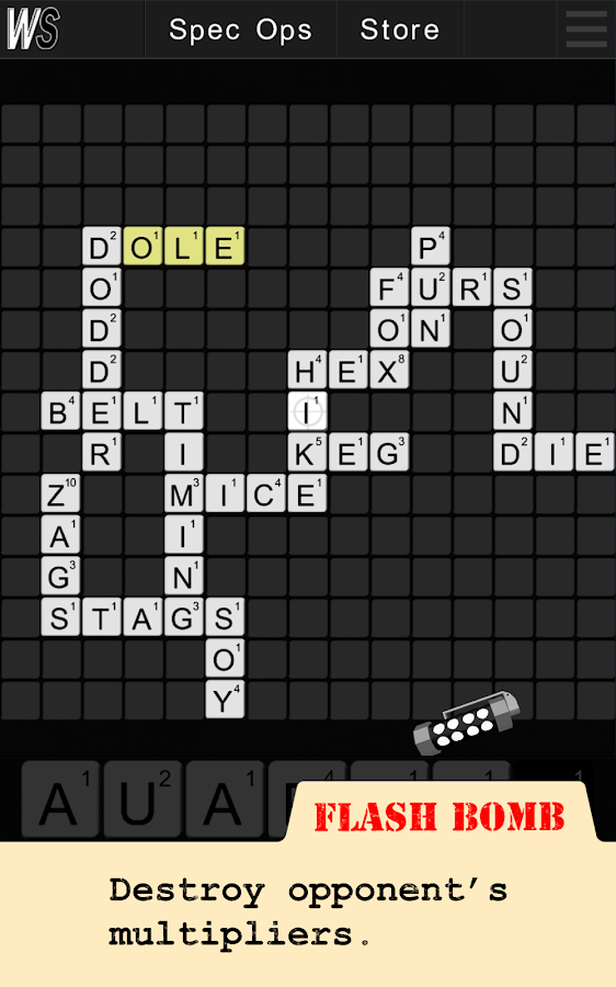 Wordspionage FREE - screenshot
