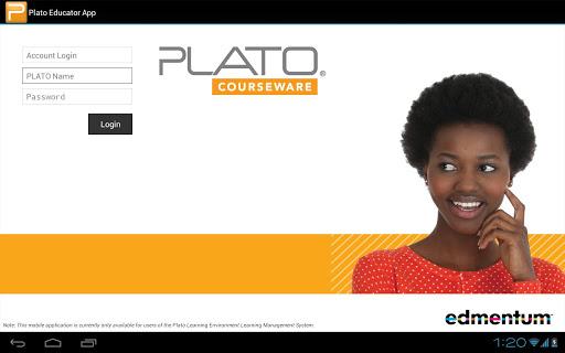 Plato Educator App