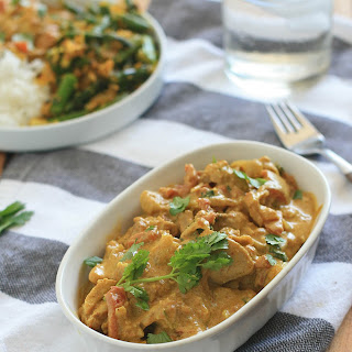 Indian Spiced Butter Chicken.