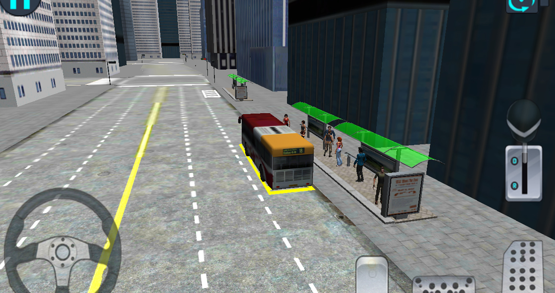 City Bus Driving 3D Simulator - screenshot