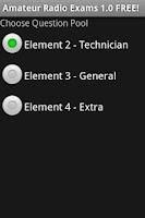 Screenshot of Amateur Radio Exams 1.0.18