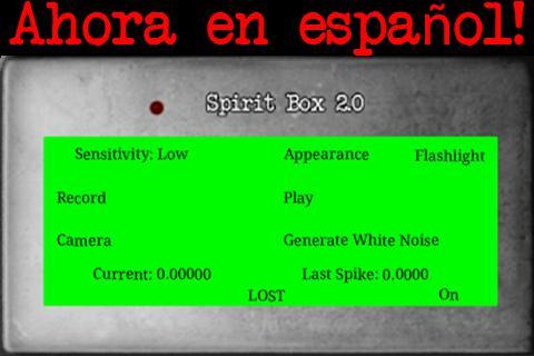 Espíritu Caja 2.0 en español