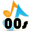 00′s Fun Music Game logo