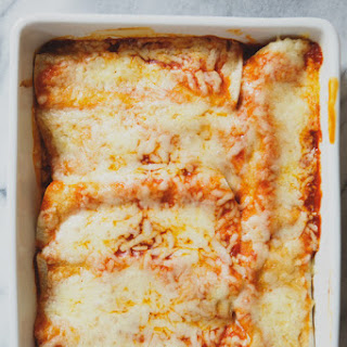 Green Chili Turkey & White Bean Enchiladas