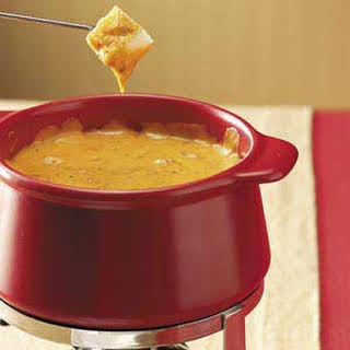 Cheddar Cheese Pizza Fondue.