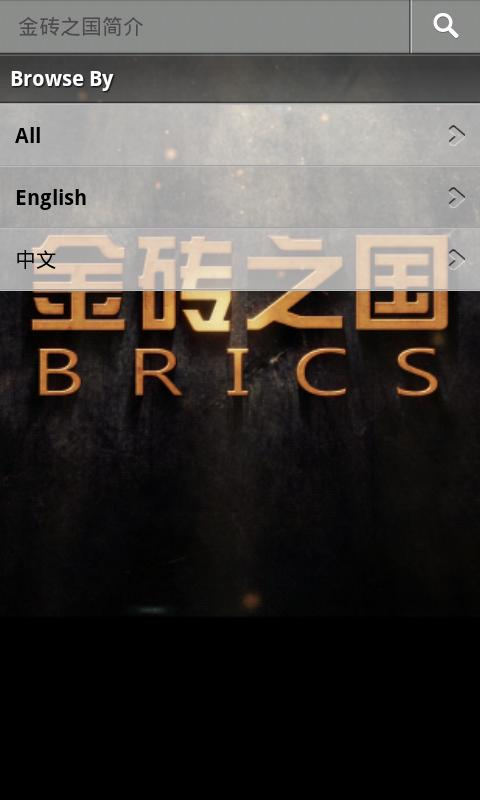 BRICS app for CCTV. - screenshot