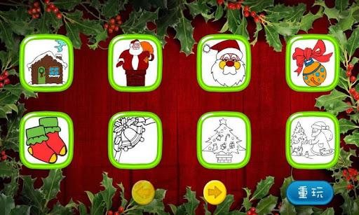 菲菲貓聖誕塗鴉