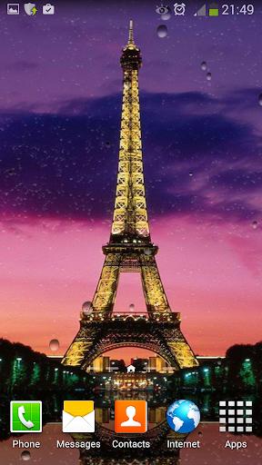 巴黎的動畫壁紙