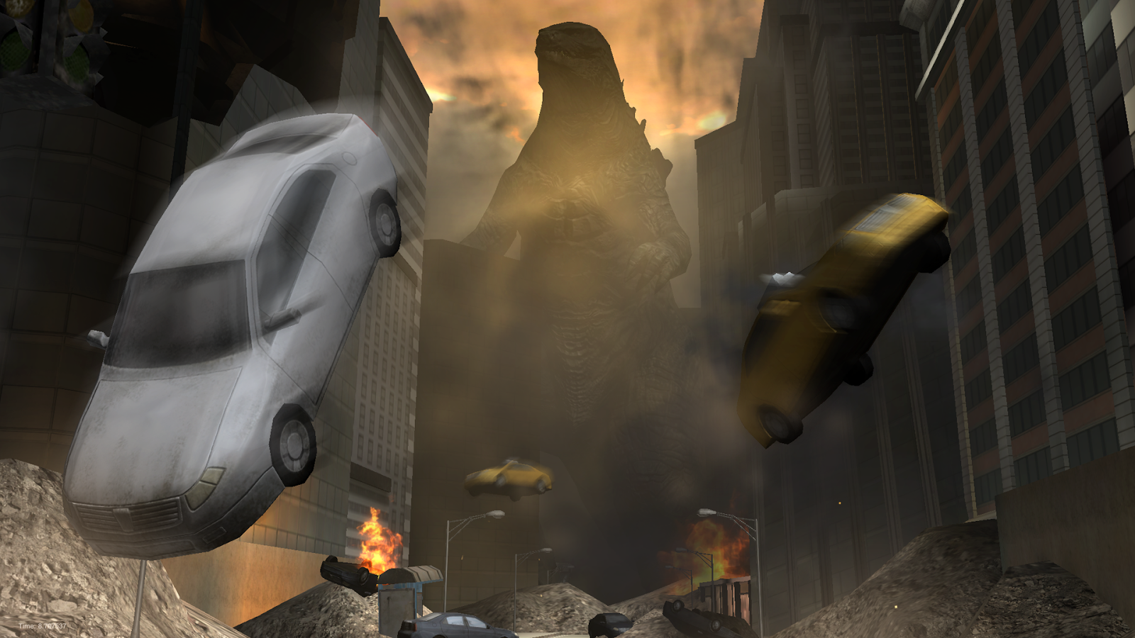 Godzilla: Strike Zone- screenshot
