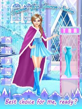 Frozen Ice Queen Salon
