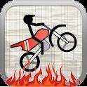 Stick Stunt Biker (Free) logo
