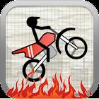 Stick Stunt Biker Free icon