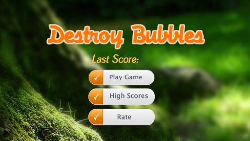 Destroy Bubbles