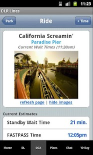 Disneyland Lines - screenshot thumbnail