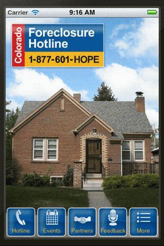Colorado Foreclosure Hotline