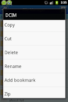 Screenshot of Easy File Manager