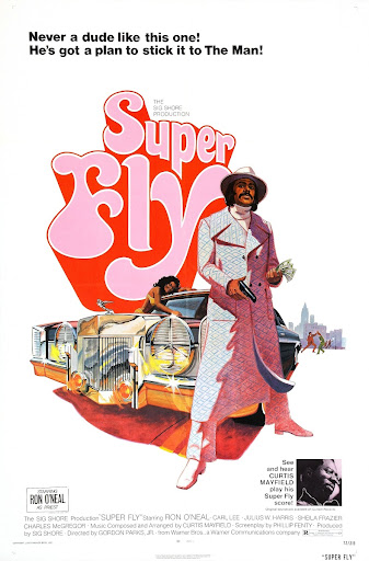 Super Fly US One Sheet Movie Poster