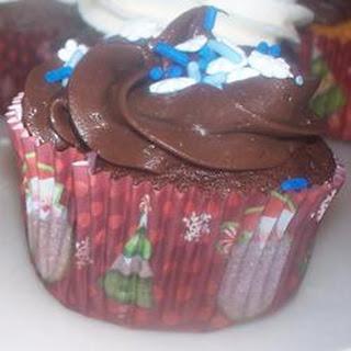 Rich Chocolate Cupcake.