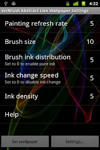 aniBrush Abstract Live W.P. screenshot 4