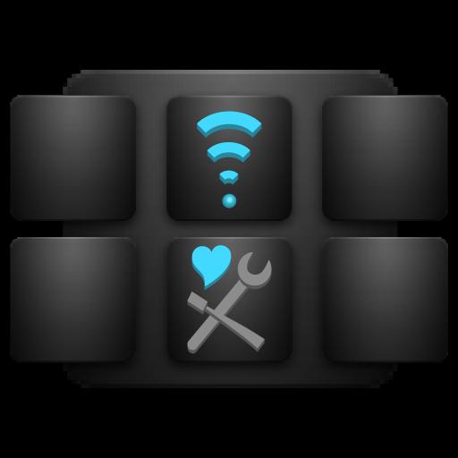无线网络连接 轻扫 设置 工具 App LOGO-硬是要APP